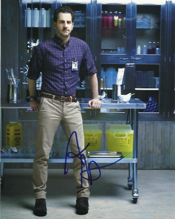 Aaron Abrams Hannibal Autographed Signed 8x10 Photo COA