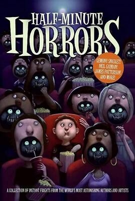 Half Minute Horrors Snicket Gaiman Brand New Hardcover Book Ebay Best Price