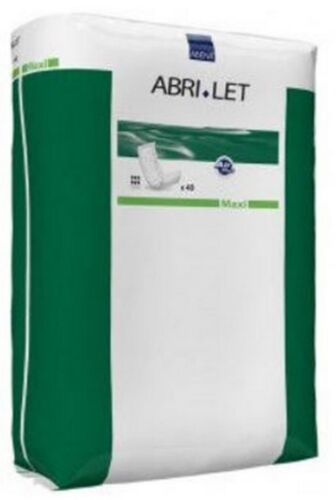 """Incontinence Booster Pad Abri-Let 4X13""""Lgth Absorb Fluff Unisex DisposeCase252"""