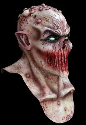 Blood Hungry Mutant Alien Zombie DELUXE ADULT LATEX DEADLY SILENCE MASK - Deadly Silence Mask