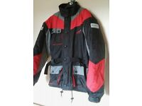 """Motorcycle jacket size """"small""""...(but more like a medium!)"""