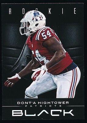 Donta Hightower 2012 Panini Black Rookie Card 118 349  New England Patriots
