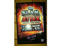 Topps Slam Attax Then Now Forever wrestling cards