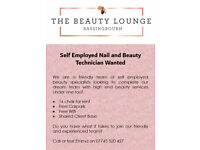 Self Employed Nail and Beauty Technician Wanted