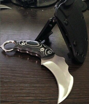 Kia Bill Pay >> Scorpion Claw Stainless Fixed Blade Karambit Outdoor ...