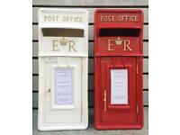 Royal Mail Wedding Postbox Red or White FOR HIRE ONLY Royalmail Post Box - NEW - light up love sign