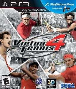 VIRTUA TENNIS 4 PS3 GAME BRAND NEW SEALED