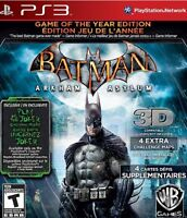 Batmam Arkham Asylum GOTY w/ Limited Edition 3D Glasses