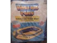 Vinyl inflatable navigator 3 Boat