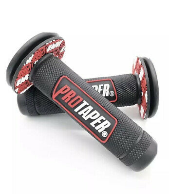 ProTaper Handlebar Grips Motorcycle Rubber Hand Grip Dirt Bike OffRoad 7/8
