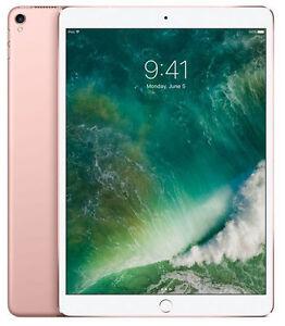 Apple iPad Pro 2nd Generation 256GB, Wi-Fi, 10.5in - Rose Gold