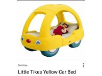 Little tykes car bed