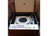 VINTAGE HMV TURNTABLE - MODEL 2041 - MINT CONDITION - WITH ORIGINAL MANUAL - OPEN TO SENSIBLE OFFERS