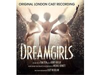 X3 tickets to Dreamgirls musical London