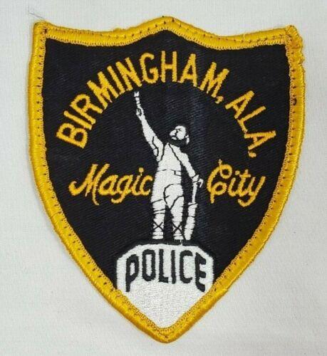 BIRMINGHAM ALABAMA ALA POLICE SHOULDER PATCH *MAGIC CITY*