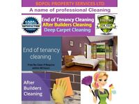 Short Notice End of Tenancy Cleaning - Free Carpet Shampoo wash - deep cleaning - Commercial clean