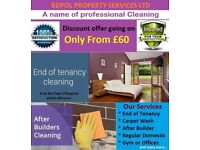 End of Tenancy Clean - Money Back Guarantee - Free Carpet shampoo wash