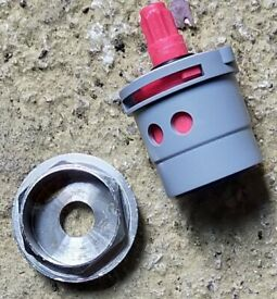 Brev Quattro Plastic Cartridge For Sink Mixer Tap - Hot Side