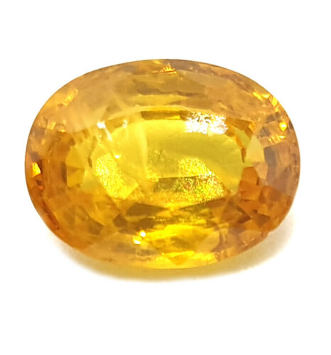 3.10 Ct Natural Yellow Sapphire Certified Super Premium Quality Loose Gemstone