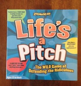 "New! Factory Sealed..""Life's a Pitch""  Board Game-HTF"