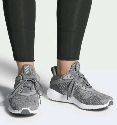 93ddf1987241f Mens Adidas Alphabounce HPC AMS Grey running Shoes BY4327 size US 10.5 11.5