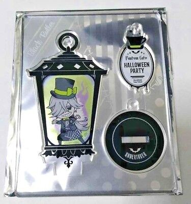 Black Butler Halloween (Black Butler Acrylic Stand Undertaker Funtom Cafe Halloween Yana Toboso)