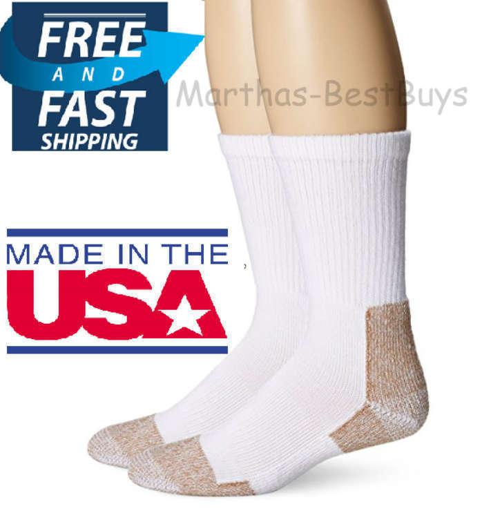 Fox River Steel-Toe Crew Socks , White, Large