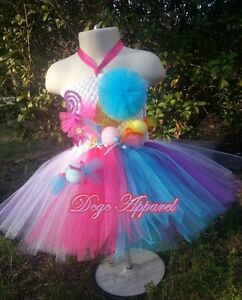 NEW Katy Perry - CandyLand Kids Tutu Outfit With Lollipop Prop