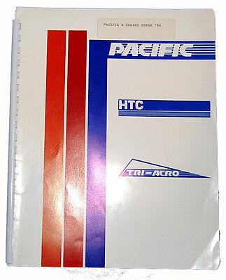 Pacific Hydraulic Shear Series R Installation Operations Maintenance Manual