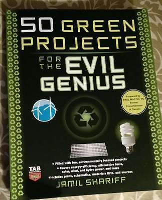 50 Green Projects For Evil Genius By Jamil Shariff