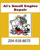 Al's lawnmower repair