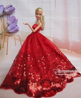 Вечернее платье для кукол барби