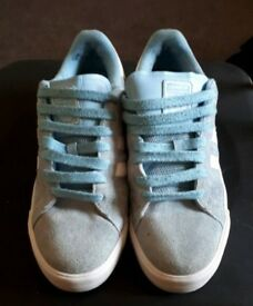 Limited Edition Baby Blue Adidas Skateboarding Gazelles