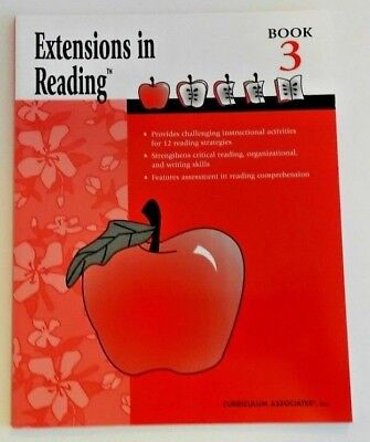Extensions in Reading Comprehension Skills 3rd Grade 3 Focused Curriculum Book - Reading Comprehension 3rd Grade