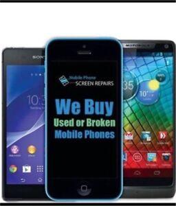 Buying all used, broken & new phones