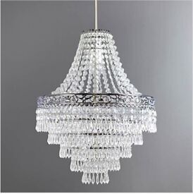 Easy fit chandelier