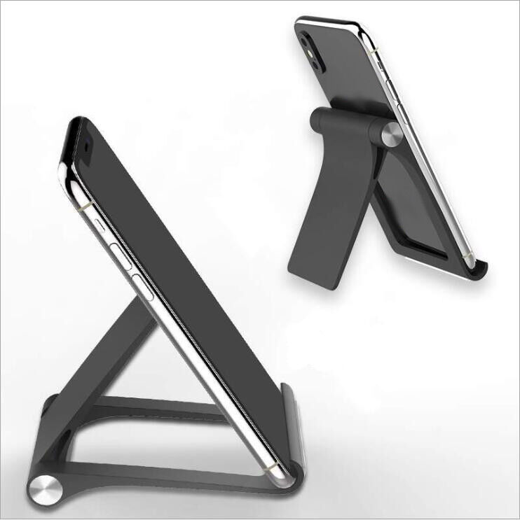 Universal Foldable ABS Desktop Desk Stand Phone Pad Mount Adjustable Holder Cell Phone Accessories