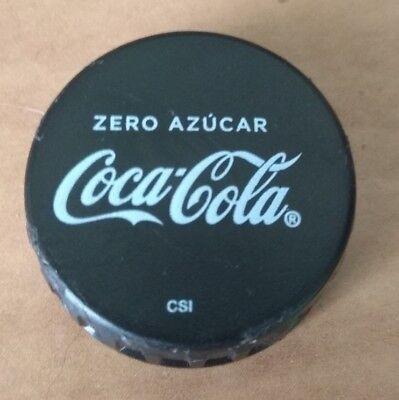 COCA COLA ZERO COKE CAP CAPS TAPON PLASTIC, usado comprar usado  Enviando para Brazil