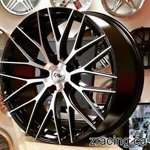 18 inch Rim Tire package $1200 Taxes included (4 Rims DAI Rennsport + 4 Tires 225 40 R18 ) @Zracing 905 673 2828