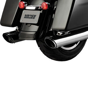 Exhaust Vance&Hines FL TWIN-SLASH RND