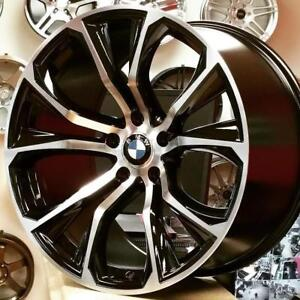 20 Inch Staggered Rim Tire Package BMW X5 X6 $1750 Taxes Included call 905 673 2828 275 40 R20 Front 315 35 R20 Rear