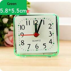 Classic Silent Clock Quartz Movement Electronic Alarm Clock Home Desk GN YT8