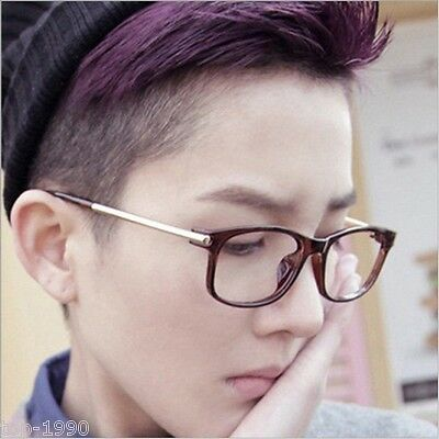 Fashion New Designer Vintage Retro glasses Clear Lens Nerd Geek Eyewear (Geek Designer Glasses)