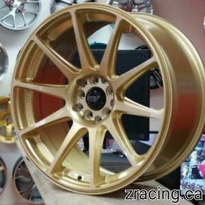 Gold XXR 527 Style Rim Tire Pkg $1350 tax in Ph 905 673 2828