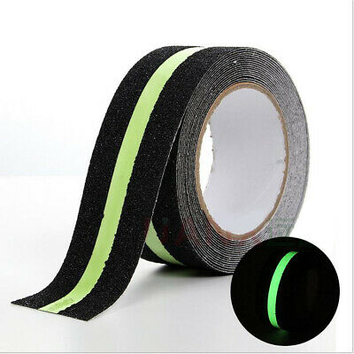 Luminous Anti Slip Non Skid Safety Grit Tape Safe Strips Sticker Adhesive Roll