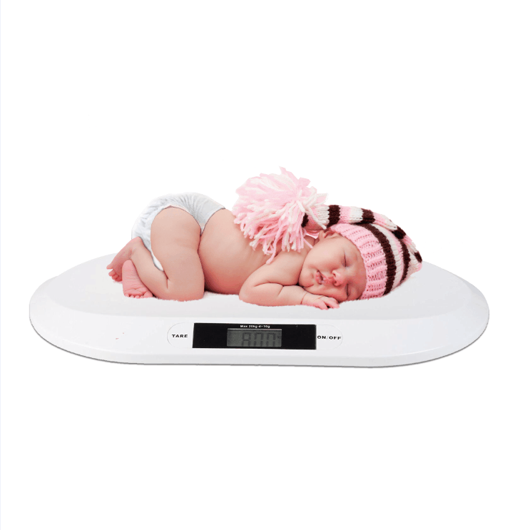 3 Modes Comfort Curshape Baby Scale 20 KG  Infant Dog or Cat