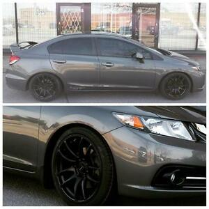 Black Work Emotion cr kai Replica $699 + TAX 18x8 5x114.3 (4New) Ph 9056732828 .  Rim Tire Package start From $1100+Tax