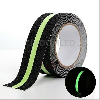 5m Glow Anti Slip Non Skid Safety Grip Tape Safe Strips Sticker Adhesive Back