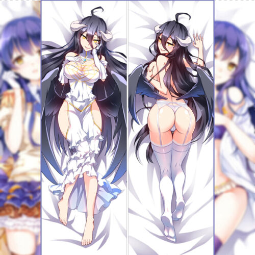 150cm Anime Overlord Albedo Sexy Otaku Dakimakura Hugging