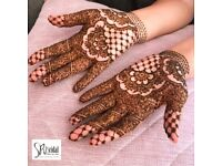 henna artist/Asian bridal makeup/mehndi/bridal makeup/arabic makeup/bridal hair/Indian bridal makeup